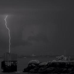 Instagram - #hudsonriver #storm #ightning