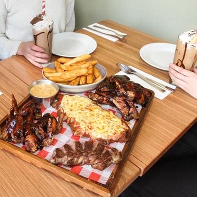 Meat Platter Universal Restaurant