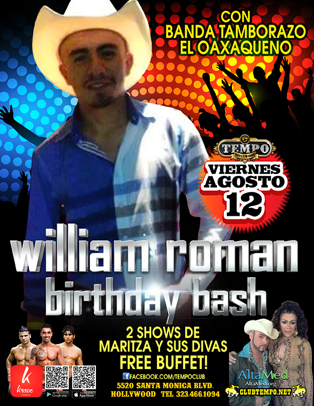 WILLIAM ROMAN BDAY