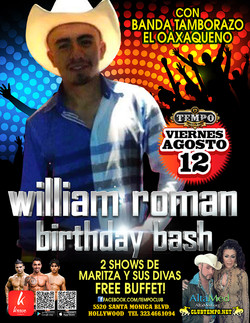 WILLIAM ROMAN BDAY