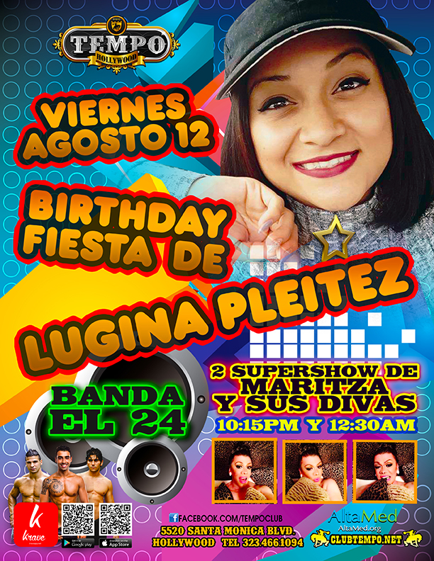 BIRTHDAY LUGINA PLEITEZ  b-day