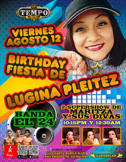 BIRTHDAY LUGINA PLEITEZ  b-day