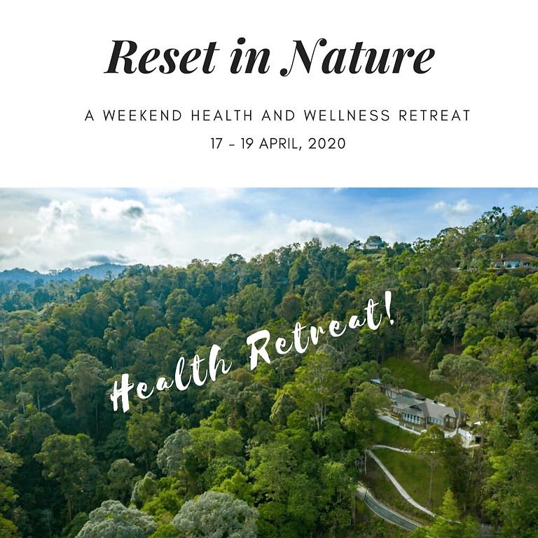 Reset in Nature Weekend Retreat in Penang