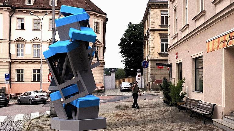 Odhalení sochy Maxima Velčovského