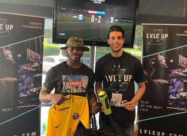David Oba crowned as latest Lvle Up FIFA Champion.
