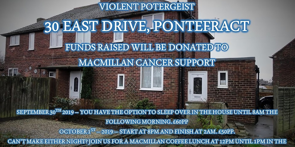 30 East Drive, Pontefract - NIGHT 2 - INVESTIGATION UNTIL 2AM