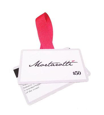 Mortarotti $50 Gift Card