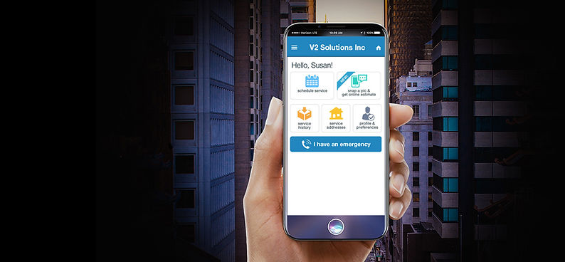 V2 Solutions, Inc. Mobile Service Application