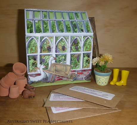 Summer Breeze Seed Mix and Greenhouse Tin
