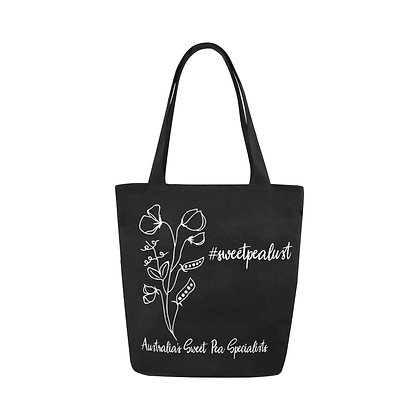 Tote Bag - #sweetpealust (black/white)