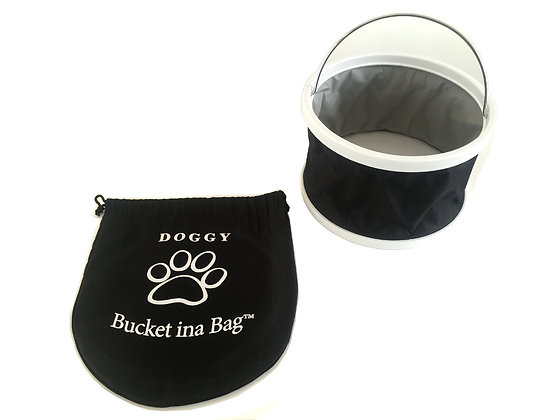 Doggy Bucket in a Bag Small - Dog Water Bowl