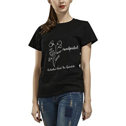 T-shirt - #sweetpealust (black/white) - T-shirt