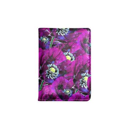Garden Journal - Purple Poppies