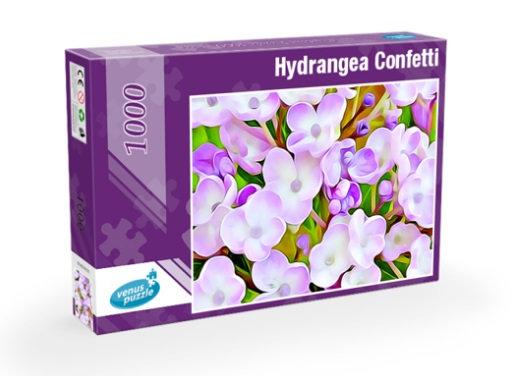 Jigsaw Puzzle 1000 pieces - Hydrangea Confetti