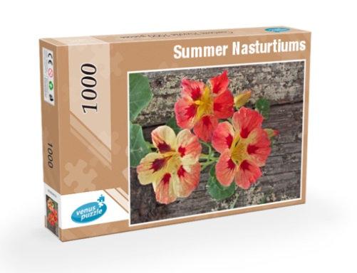 Jigsaw Puzzle 1000 pieces - Summer Nasturtiums