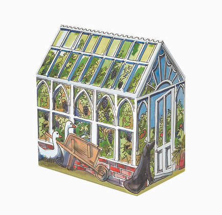 Greenhouse Tin & Small Tool Bag Gift Pack