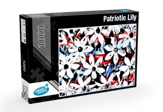 Jigsaw Puzzle 1000 pieces - Patriotic Lily