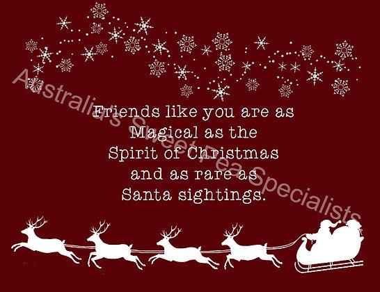 Christmas Seed Card