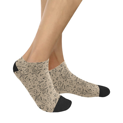 Socks Women's Ankle - #sweetpealust (rustic)