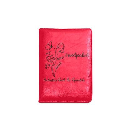 Garden Journal - #sweetpealust (red)