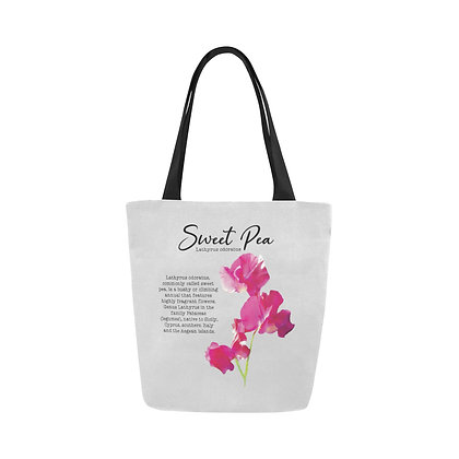 Tote Bag - Sweet Pea Botanical