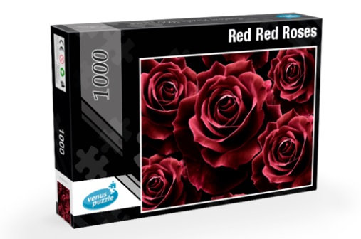 Jigsaw Puzzle 1000 pieces - Red Red Roses