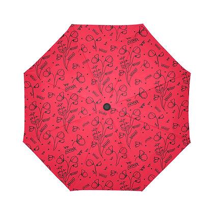 Umbrella - #sweetpealust (red/black)