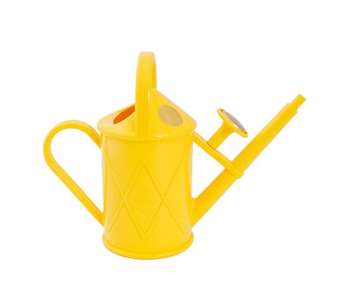 Haws Watering Can 1 litre - Yellow