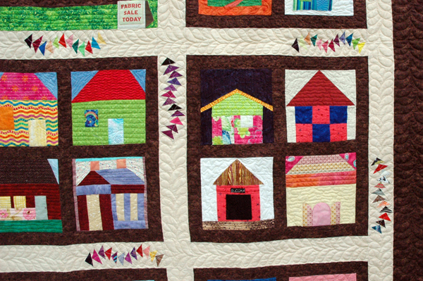 2013 No Worries Quilt Shop detail