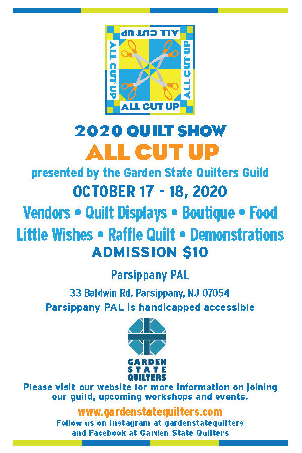 2020 All Cut Up Quilt Show Information