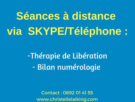 Accompagnementsindividuels à distancevia skype ou par téléphone