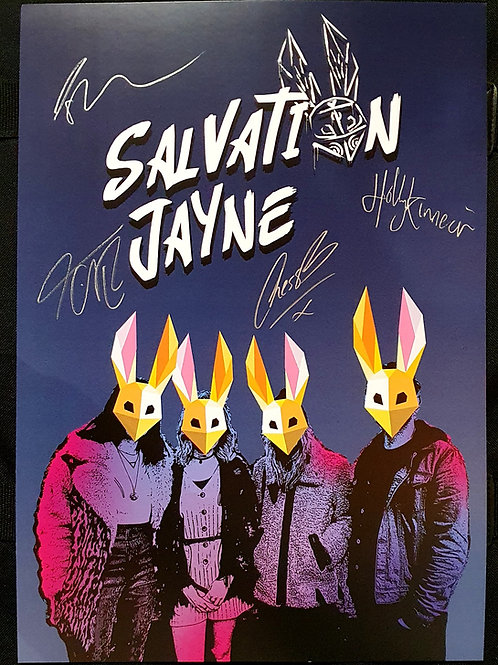 Limited Edition Signed Poster