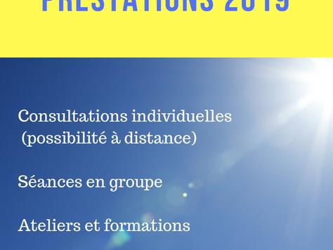 PRESTATIONS 2019