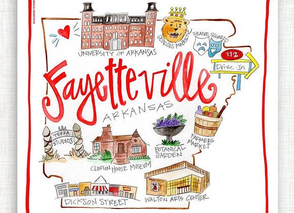 Fayetteville Kitchen Towel