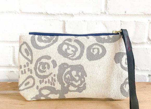 Rainy Day Vivian Wristlet Zipper Bag