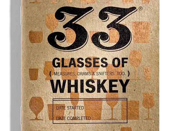 33 Glasses of Whiskey Journal