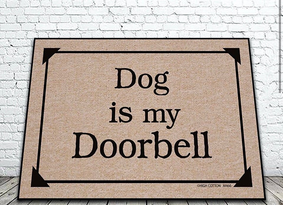 Dog Is My Doorbell Matt