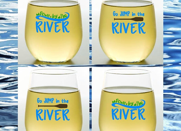 RIVER Shatterproof Wine Glasses