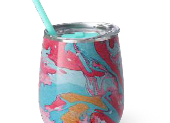 Cotton Candy 14 oz. Stemless Cup