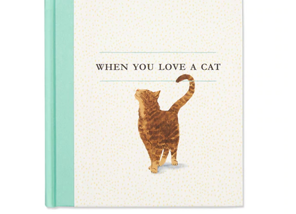 When You Love A Cat Gift Book