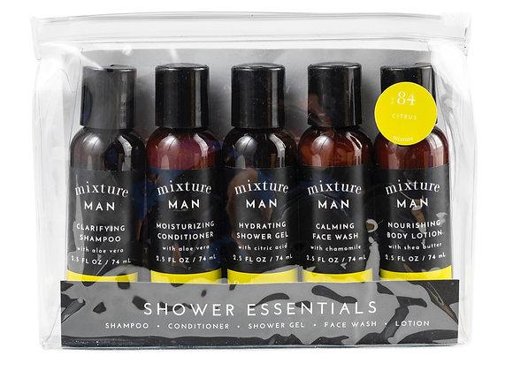 Mens Shower Essentials Gift Set