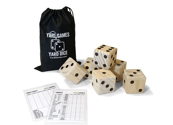 LG. Dice with Score Sheet