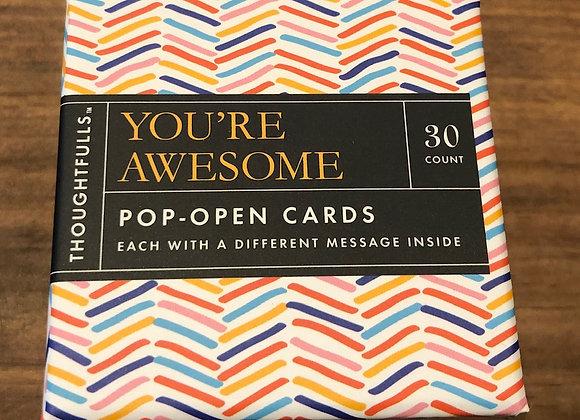 POP-OPEN CARDS - 30ct.