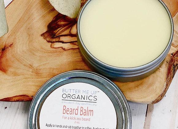 Organic Beard Balm / Beard Balm / Organic Grooming / Smooth