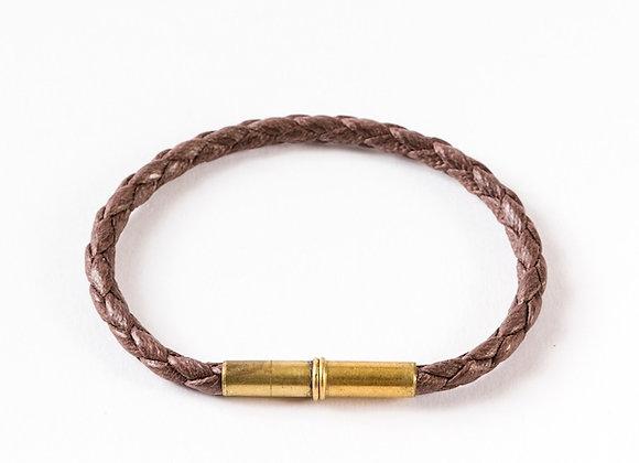 Flint Single Waxed Canvas Bracelet
