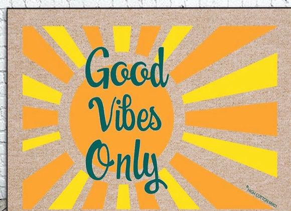 Good Vibes Door Mat