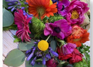 16x20 Paint by Number -Brilliant Bouquet