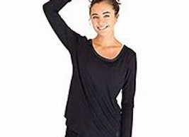 Bamboo Long Sleeve Shirt | Black