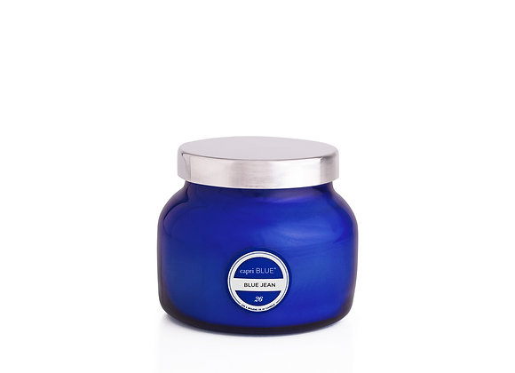 Blue Capri Candle - Petite Jar, 8oz.