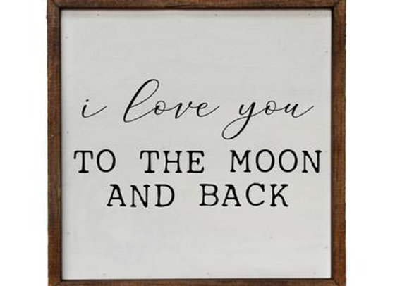 To the MOON & BACK - 10X10